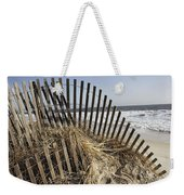 A Twisted Arch Of Snow Weekender Tote Bag