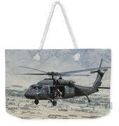 A Uh-60 Blackhawk Helicopter Weekender Tote Bag