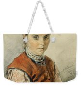 A Ukrainian Peasant Girl Weekender Tote Bag