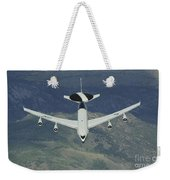 A U.s. Air Force E-3 Sentry Airborne Weekender Tote Bag