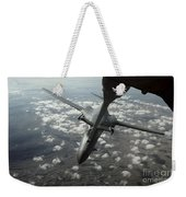 A U.s. Air Force Kc-10 Refuels A B-1b Weekender Tote Bag by Stocktrek Images