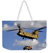 A U.s. Army Ch-47 Chinook Helicopter Weekender Tote Bag