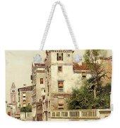 A Venetian Canal Weekender Tote Bag