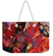 A Very Fairy Tale Of Two Butterflies In Pearlesque Weekender Tote Bag