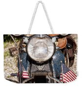 A Very Old Indian Harley-davidson Weekender Tote Bag by James BO  Insogna