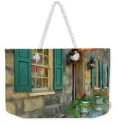 A Victorian Tea Room Weekender Tote Bag