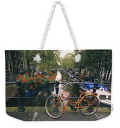 A View Down The Keizersgracht Canal Weekender Tote Bag