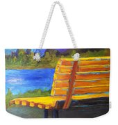 A View For Two Weekender Tote Bag