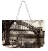 A View From Astoria Weekender Tote Bag