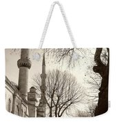 A View From Blue Mosque Weekender Tote Bag