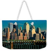 A View From Hoboken Weekender Tote Bag