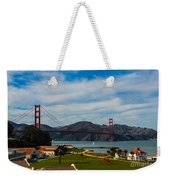 A View From The Presideo Weekender Tote Bag