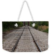 A View From The Tracks Weekender Tote Bag