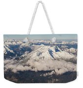 A View From Zugspitze Weekender Tote Bag