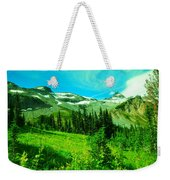 A View Into Paradise Weekender Tote Bag