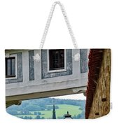 A View Of Cesky Krumlov In The Czech Republic Weekender Tote Bag