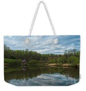 A View Of Meadowlark Gardens Early On A Spring Morning Cm1 Weekender Tote Bag