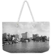 A View Of Miami Weekender Tote Bag