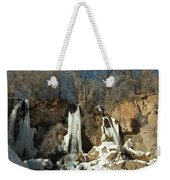 A View Of Rifle Falls Weekender Tote Bag