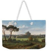 A View Of The Castel Sant'angelo Weekender Tote Bag
