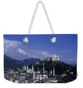 A View Of The City Of Salzburg From An Weekender Tote Bag