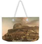A View Of The Rock Of Gibraltar From The Spanish Lines 1782 Weekender Tote Bag