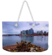 A View Of Vancouver Weekender Tote Bag