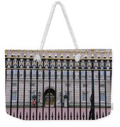 A View Through The Gates At Buckingham Weekender Tote Bag