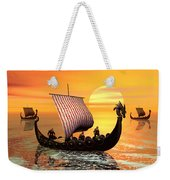The Vikings Are Coming Weekender Tote Bag