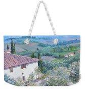 A Villa In Tuscany Weekender Tote Bag