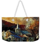 A Village In Autumn Weekender Tote Bag