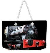 A Vintage Steam Train Weekender Tote Bag