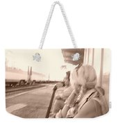 A Waiting Game Weekender Tote Bag