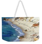 A Walk Along Aquinnah Beach Weekender Tote Bag