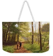 A Walk In The Forest Weekender Tote Bag by Niels Christian Hansen