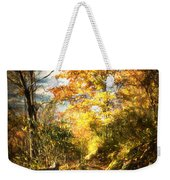 The Lighted Path Weekender Tote Bag