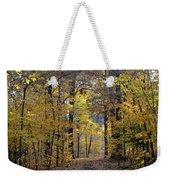 A Walk In The Woods Weekender Tote Bag