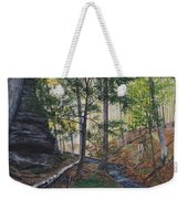 A Walk In The Woods Weekender Tote Bag