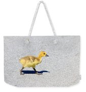 A Walk On Asphalt  Weekender Tote Bag