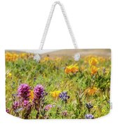 A Walk Though The Poppy Fields Weekender Tote Bag