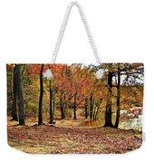 A Walk Through Autumn  Weekender Tote Bag
