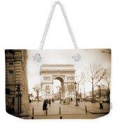 A Walk Through Paris 3 Weekender Tote Bag
