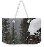 A Walk Through Winter Weekender Tote Bag