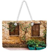 A Wall In Chania Weekender Tote Bag