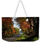 A Warm Fall Day Weekender Tote Bag