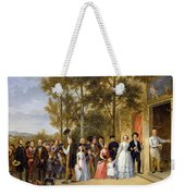 A Wedding At The Coeur Volant Weekender Tote Bag