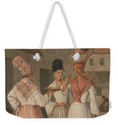 A West Indian Flower Girl And Two Other Free Women Of Color Weekender Tote Bag