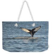 A Whale Of A Tail Bar Harbor Weekender Tote Bag