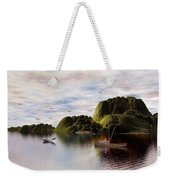A Whales Tail By John Junek Weekender Tote Bag