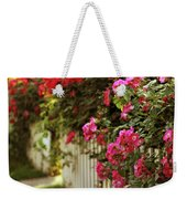 A White Picket Fence Weekender Tote Bag